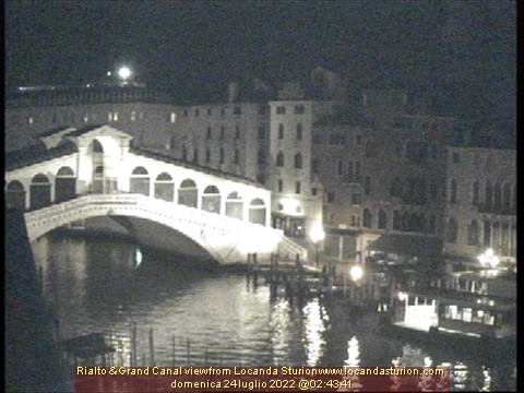 Webcam Rialto Bridge Venice